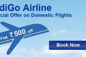 IndiGo Airline Special offer on Domestic Flights from Goibibo