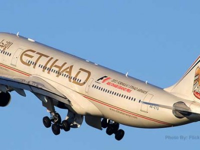 Big Sale, save upto 10% on First and Business class Etihad Airways from Akbar travels online