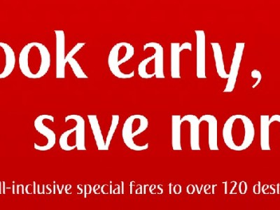 Book Early and Save More from Emirates