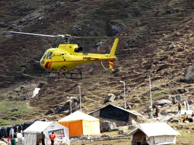 Sacred Yatra 2013 CharDham helicopter tour packages