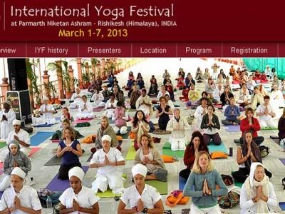 International Yoga Festival 2013 in Rishkesh India