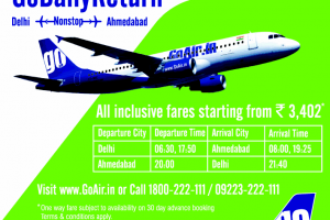Go Daily Return from goair.in