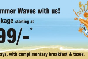 Ride the summer waves with ginger hotels