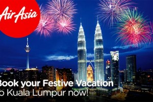 Festival vacations to Kuala lumpur offer from airasia