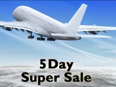 5 Day Super Sale on Etihad Airways