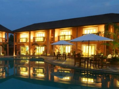 The Golden Palms Hotel in Colva Beach Package from groupon
