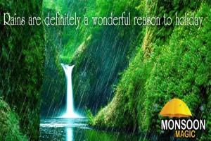 Monsoon Holidays offer from ezeego1