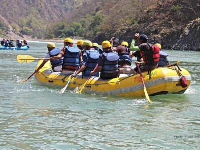 White Water Rafting 2013 for 3 days from sotc kuoni