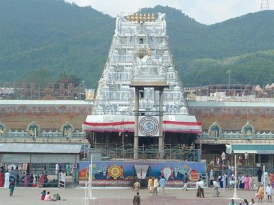 Mumbai Tirupati Standard Charter Tour from Rail Tourism India