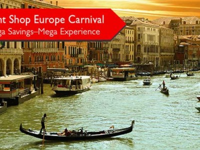 Flight Shop Europe Carnival Mega Savings offer from flightshop