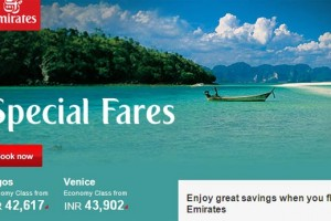 Enjoy great savings when you fly Emirates