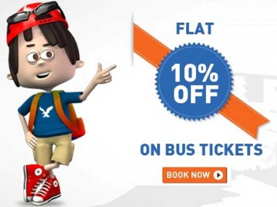 Festival Discount on Bus Tickets with up to 10% from eTravelSmart