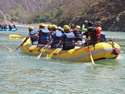 Overnight Camping With Rafting from joyful travel