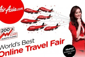 Online Travel Fair from Air Asia