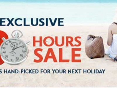 48 Hour Exclusive Hotel Sale from expedia