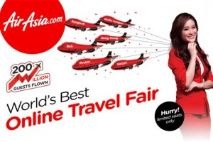 World's best Online Travel Fair From air asia