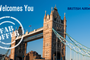 Get Rs 6000 cashback for your trip to UK on British Airways