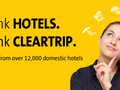 Cleatrip – Upto 50% cashback on hotel bookings