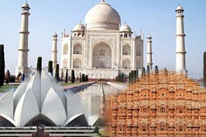 Golden Triangle of India Package From railtourismindia