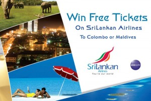 Win Free Tickets on SriLankan Airlines