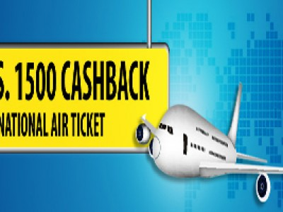 Get Rs 1500 CashBack on International Air Ticket From Ezeego1