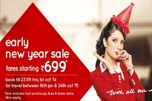 Get Cheapest Domestic Flight Ticket On Early New Year Sale From Spicejet