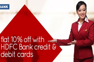 Get 10% Off On Domestic Flight With Hdfc Bank Credit & Debit Card From Spice Jet