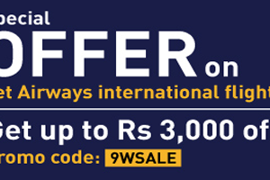 Get Up To Rs 3000 Off On Jet Airways International Flights From Musafir