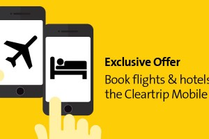 Get CashBack On Domestic Flights And Hotels From Cleartrip