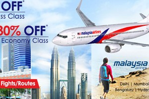 Get Rs 40% OFF On Malaysia Airlines From Goibibo