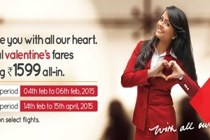 Spicejet Valentine's Offer Book Your Airfair @ Rs 1599 On Domestic Network