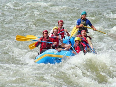 Rafting Package With Disco Nights By Ganga Beach Resort