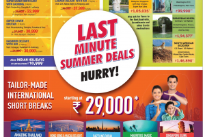 "Summer Monsoon & Winter Holidays Offer by ""Cox & Kings"""