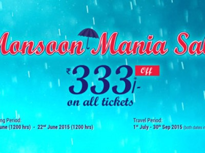 Get Rs 333 Off On Monsoon Mania Sale By Aircosta