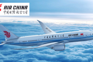 Get 20 % Off On Air China International Flights  By Goibibo