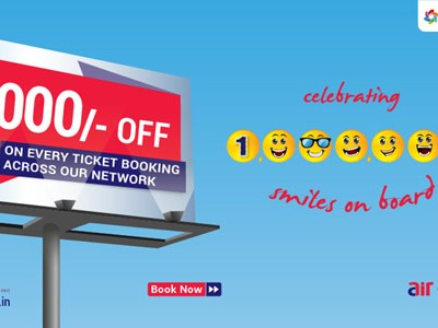 Get Rs 1000 Off On All Flights Booking By Aircosta