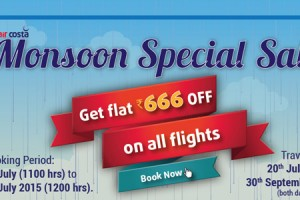 Get Rs 666 Off On Monsoon Special Sale By Aircosta