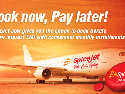 SpiceJet Book Now Pay Later Offer