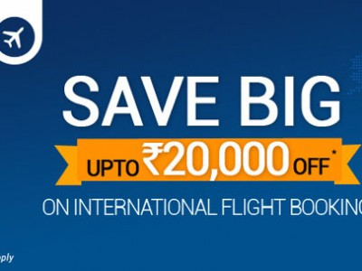 Get Rs 20,000 Off On International Flights Booking By Goibibo