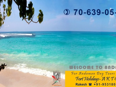 ENJOY ANDAMANS WITH FORT HOLIDAYS FOR COUPLE WITH SCUBA FREE