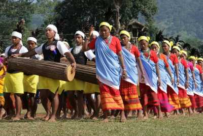 100 drums wangala