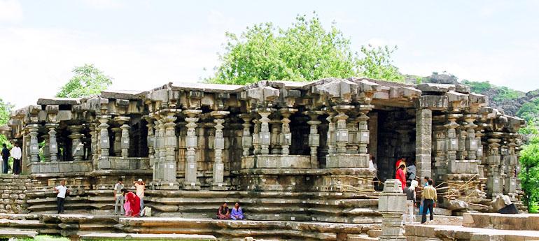 1000 pillars temple warangal