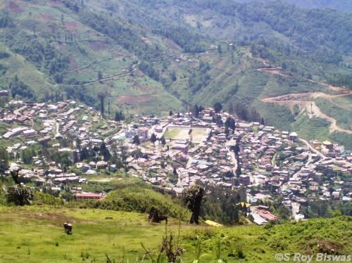 Bomdila Town