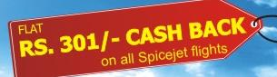 Travel Chacha Spicejet Airlines Flights Cashback offers