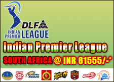 IPL Cricket Travel Package to South Africa