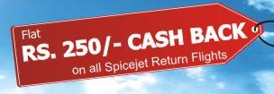 Travel Chacha and Spicejet Cashback Offer