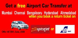 Airport Transfer from GoAir and SpiceJet