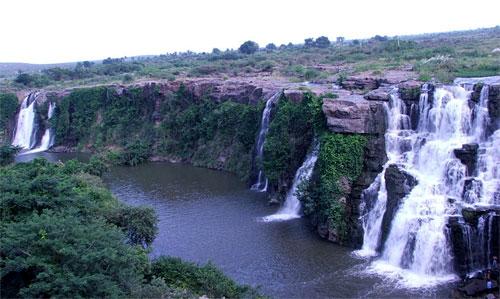 Ethipothala Falls in Andhra Prades
