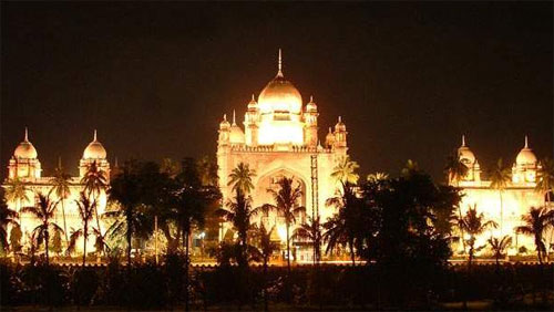 Night Picture of Andhra Pradesh High Court