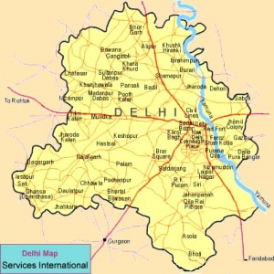 Delhi Travel Map
